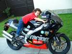Production (Stock) Aprilia RS Models, My son Trevor's NEW bike...should he start with something smaller???