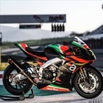 Production (Stock) Aprilia RS Models, a red and black motorcycle a red and black Aprilia RS Models Sportbike