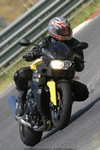 Production (Stock) BMW F650/F800, me in the circuit of Magione (PG) ITALY