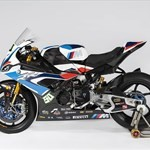 Production (Stock) BMW S1000RR, a close up of a motorcycle a close up of a BMW S1000RR Sportbike