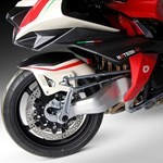 Production (Stock) Bimota Tesi Models, a red and black motorcycle a red and black 2020 Bimota Tesi Models Sportbike