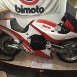 Production (Stock) Bimota Tesi Models, a red and black motorcycle a red and black Bimota Tesi Models Sportbike