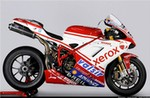 World SuperBike Ducati 1098/1198, a red motorcycle a red Ducati 1098/1198 Sportbike