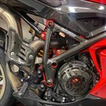 Production (Stock) Ducati 1098/1198, a close up of a motorcycle a close up of a Ducati 1098/1198 Sportbike