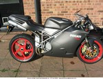 Production (Custom) Ducati 748, I picked this up for $7000 US.