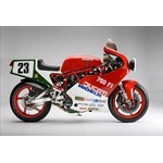 Misc. Racing Ducati 750cc Models, a red and black motorcycle a red and black Ducati 750cc Models Sportbike