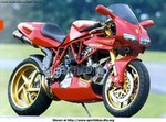 Production (Custom) Ducati 900cc Models, Custom Ducati '908SSP' (900 SS frame with a 916 engine and bodywork. Very cool!