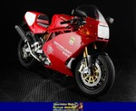 Production (Stock) Ducati 900cc Models, a red and black Ducati 900cc Models