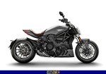 Production (Stock) Ducati Diavel, a 2019 Ducati Diavel parked on the side