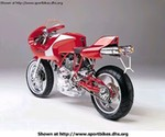 Production (Stock) Ducati Monster Models, 1999 Ducati MH900