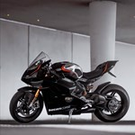 Production (Stock) Ducati Panigale V4, a motorcycle parked on the side of a road