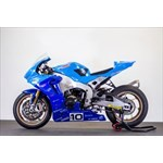 Misc. Racing Honda CBR1000RR, a blue and white motorcycle a blue and white Honda CBR1000RR Sportbike