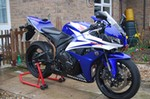 Production (Stock) Honda CBR600RR, Uploaded for: will peachey 2008 Honda CBR600RR