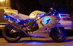 Production (Custom) Honda CBR900RR, This is a pic of my buddies ride he sold it recently but it always turned heads. I made and installed all the lights with him.