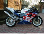 Production (Custom) Honda CBR929RR/CBR954RR, This is my bike after the paint custom!!!!