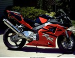 Production (Stock) Honda CBR929RR/CBR954RR, Just took the snow plow off yesterday while at work, what do you think?