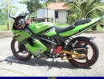 Production (Stock) Kawasaki Ninja 150, Uploaded for: Kabir Lukman 2003 Kawasaki ZX150