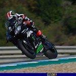 World SuperBike Kawasaki Ninja ZX-10R, a red and black motorcycle parked on the side of a road a man riding a 2019 Kawasaki Ninja ZX-10R Sportbike on a track