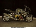 Production (Custom) Kawasaki Ninja ZX-12R, This is a pic of the zx12r Kid Rock ride's in BikerBoyz, Paint is very unusual, Go to BikerBoyz.com  All the bike's in the movie are for sale, Price on this one, 18,000
