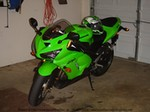 Production (Stock) Kawasaki Ninja ZX-6R, My first bike, bought it with 0 miles and put about 300 in two weeks.  Tell what you think about this bike in general.