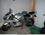 Production (Stock) Kawasaki Ninja ZX-9R, Having a wonderful wife get you one of these for your birthday.