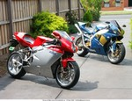 Production (Stock) MV Agusta F4 series, Picture of my bikes.
