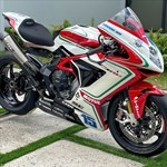 Production (Stock) MV F3, a motorcycle parked on the grass a MV F3 Sportbike parked on the grass