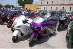 Production (Custom) Multiple Multiple (Multiple), 03 Busa and 98 ZX7R taken during Biker Boyz Weekend in Tulsa July 16th-18th.