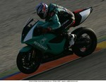 World SuperBike Other Petronas FP1, Garry McCoy on the FP1 at Valencia 18 11 2004 04
