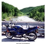 Production (Stock) Suzuki GSX Models, 'The Dear Trail' Tour. North of Elliot Lake Ontario Canada. Nice twisty road with no trafic and great scenery.