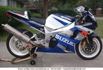 Production (Custom) Suzuki GSX-R1000, This is my '02 1K with 2000 mi. and lots of mods.