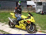 Production (Stock) Suzuki GSX-R600, Uploaded for: Tomson:)) 2004 Suzuki GSX-R600