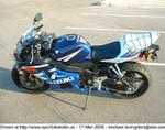 Production (Stock) Suzuki GSX-R600, Another pic of Q-Rokit in Outlet Mall Parking lot!