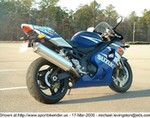 Production (Stock) Suzuki GSX-R600, Another pic of Q-Rokit! Guess you already know that 'I LOVE MY BIKE!'