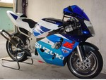 Production (Custom) Suzuki GSX-R600, GSX-R 600 SRAD with new Under Trail