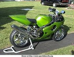 Production (Custom) Suzuki GSX-R750, Green Gixxer 750!