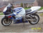Production (Stock) Suzuki GSX-R750, 2002 -Suzuki - GSX-R750 - 70292