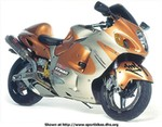 Production (Custom) Suzuki Hayabusa, seen on mcn