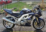Production (Stock) Suzuki SV1000/S, Uploaded for: C?dric D. 2004 Suzuki SV1000S