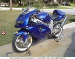 Production (Custom) Suzuki TL1000R/TL1000S, BASICALLY STOCK JUST THE BASICS, SAME BIKE THAT IS IN THE MOVIE