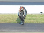 Stunts Suzuki TL1000R/TL1000S, Driving to Endanger at Indianapolis Raceway Park 2002