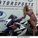 Women Suzuki TL1000R/TL1000S, Uploaded for: Original data lost due to server error. a woman sitting on a Suzuki TL1000R/S sportbike