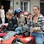 Women Honda CBR900RR, Hot babe with a Honda CBR900RR motorcycle! a group of people sitting on a 1998 Honda CBR900RR sportbike