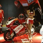 Women Ducati 999, Hot babe with a Ducati 999 motorcycle! a group of people riding on a Ducati 999 sportbike