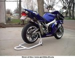 Production (Custom) Yamaha YZF-R1, Fully Chromed and Polished. Quad Undereat BlueFlame Exhaust. Other goodies too.