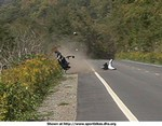 Crash Yamaha YZF-R1, This picture says it all !!!!!!!