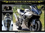 Production (Custom) Yamaha YZF-R1, Objects in mirror may rapidly dissappear
