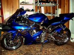 Production (Custom) Yamaha YZF-R1, 2003 custom r1, let me know what you guys think!