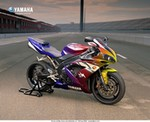 Drawings & Art Yamaha YZF-R1, Rainbow Paint Scheme, question is Photoshopped or Real, which ever, I'd ride it.