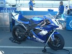 AMA Racing Yamaha YZF-R1, Picture from Barbers Motorsports Park in Birmingham Alabama.